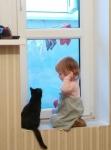 Молодая кошечка, с необычным окрасом и неординарным характером, ищет х